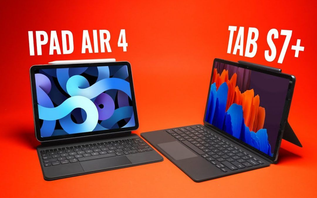 WHO KNEW?! iPad Air 4 vs Galaxy Tab S7+