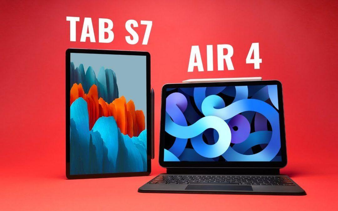 WHY PAY MORE?! iPad Air 4 vs Galaxy Tab S7