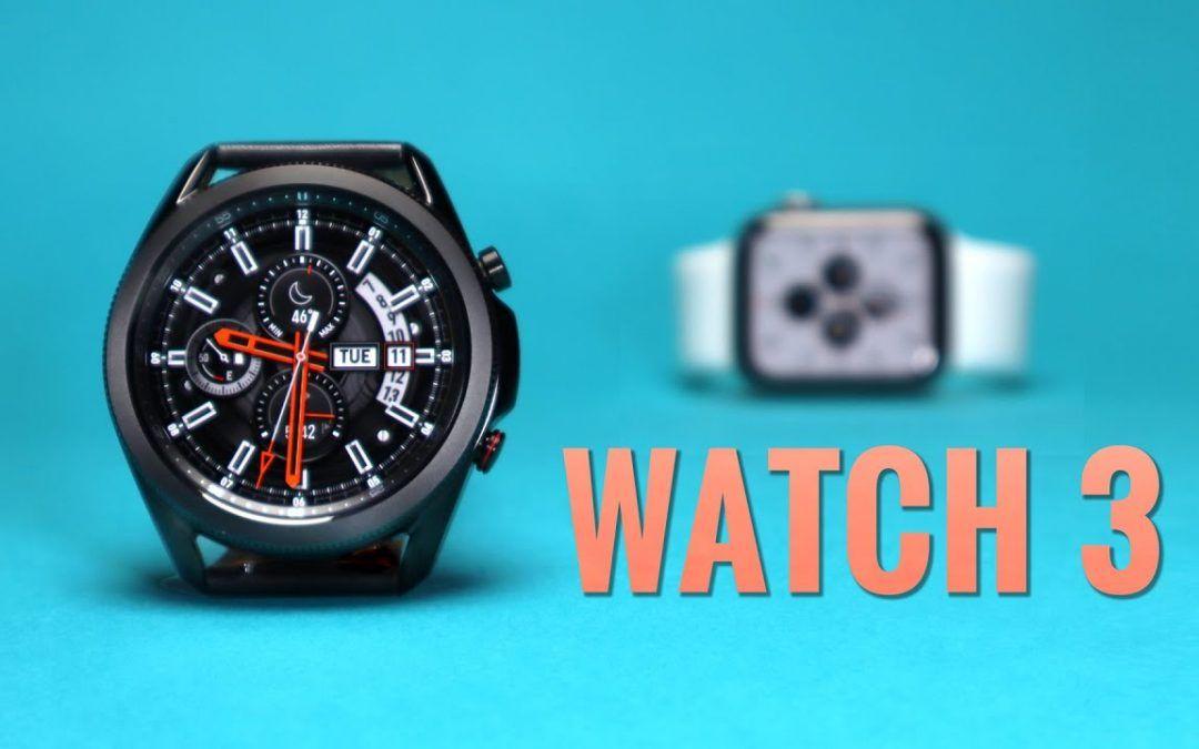GALAXY WATCH 3: BETTER than the Apple Watch!?