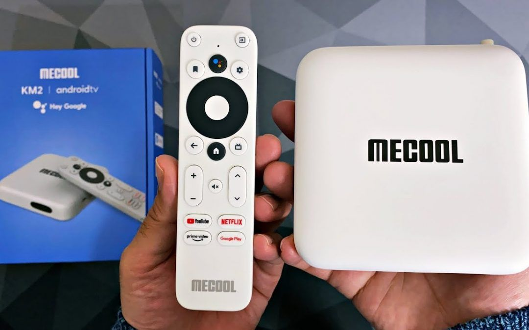 MECOOL KM2 TV Box – Official Android TV OS – 4K NETFLIX – FINALLY :)