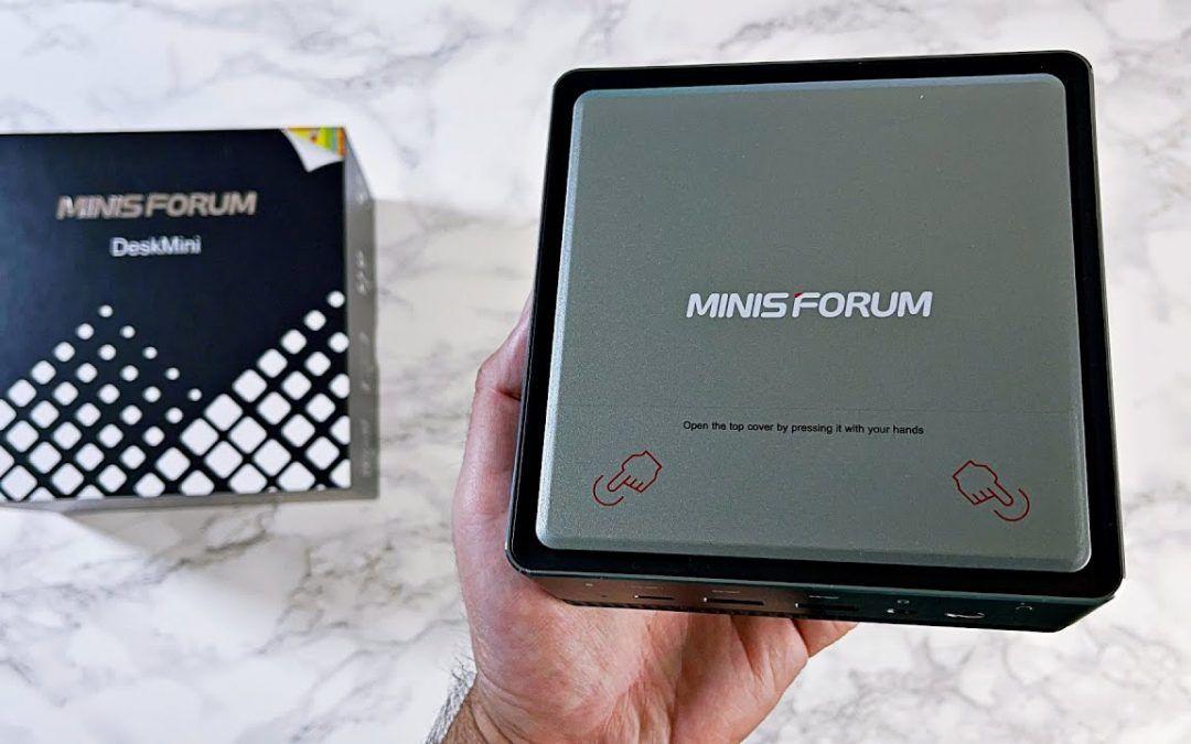 Minis Forum U850 – Powerful Mini PC – Windows 10 Pro – Core i5 10210U – Any Good?