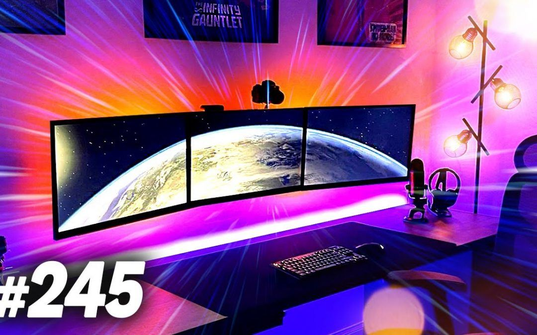 Room Tour Project 245 – SICK Desk & Gaming Setups!