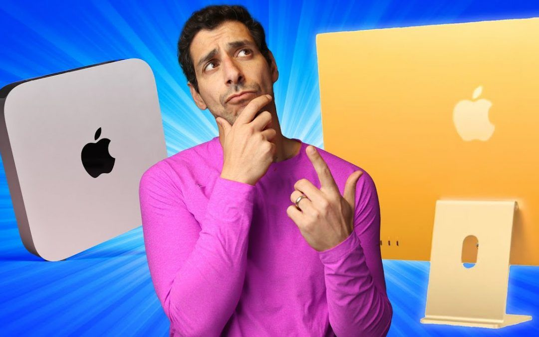 SHOULD YOU WAIT for the M1 iMac or BUY a Mac Mini?