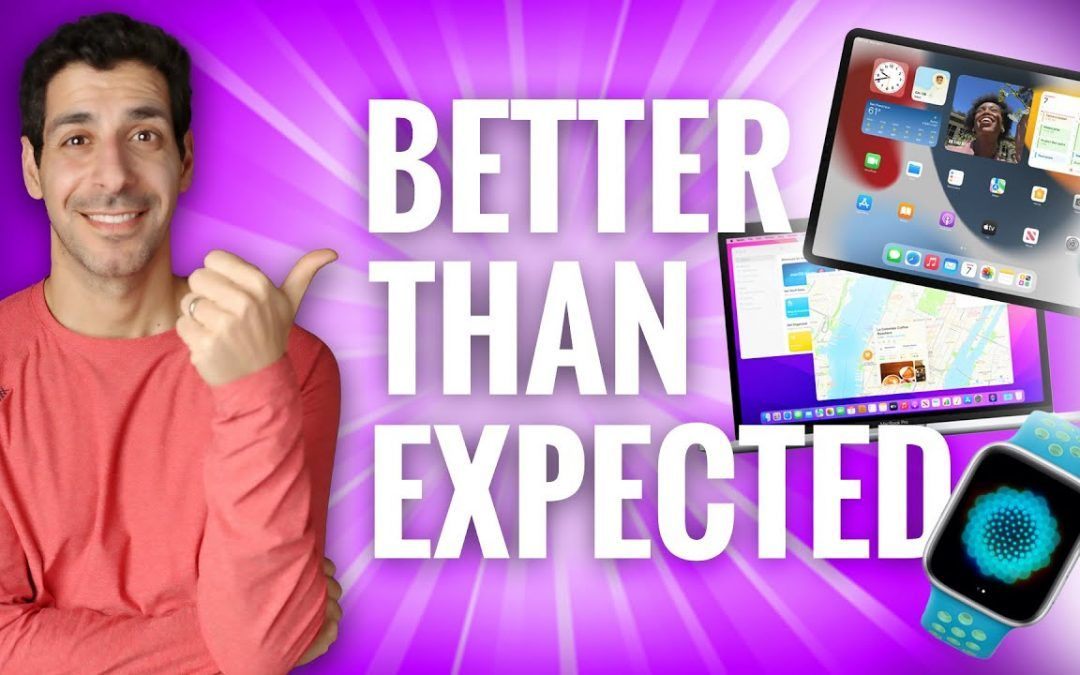 BEST of WWDC21 – So Much Good Stuff!!