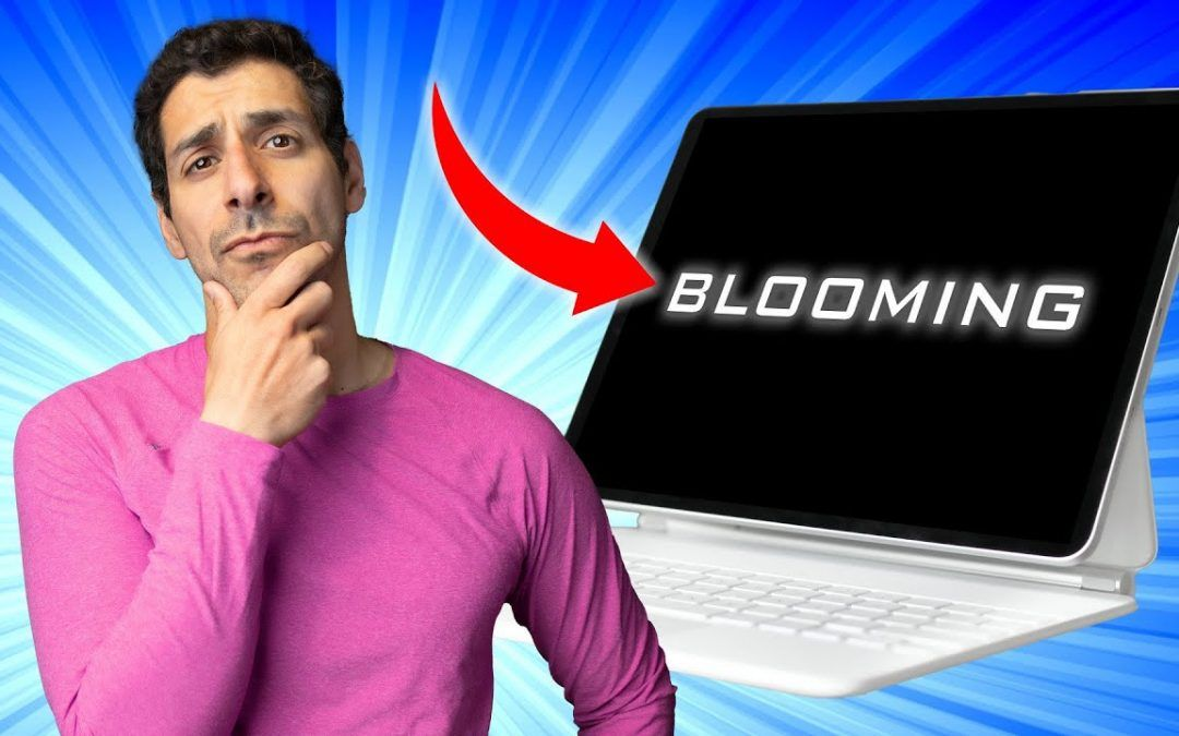OVERBLOWN? Blooming on the M1 iPad Pro
