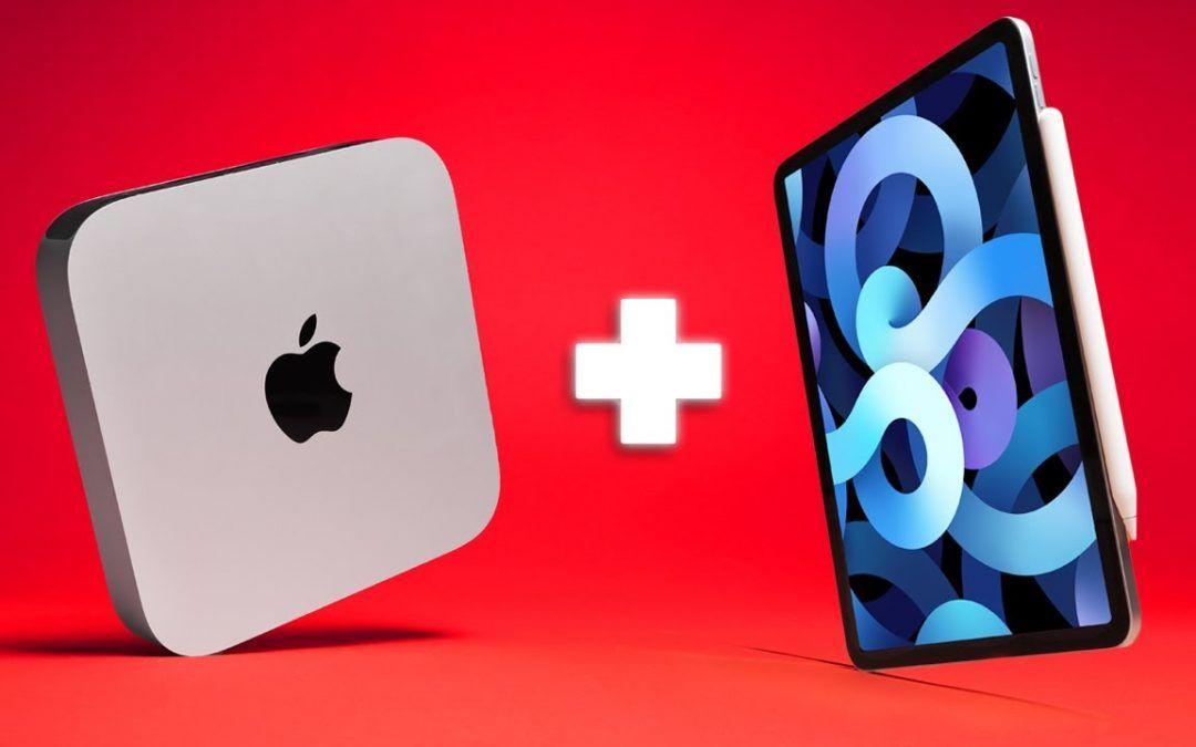 THE PERFECT COMBO! iPad Air 4 and M1 Mac Mini