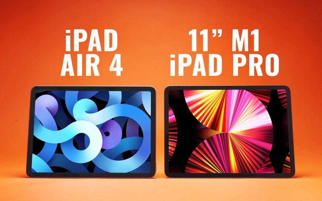 WHY PAY MORE?! iPad Air 4 vs 11″ M1 iPad Pro