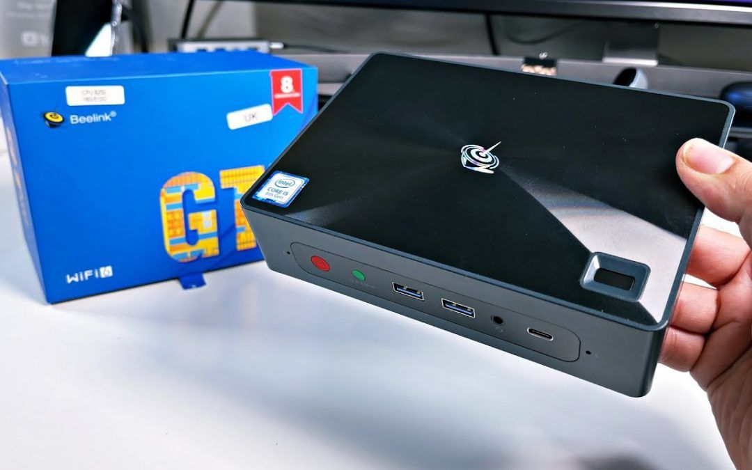 BEELINK GTi 10 Mini PC – Intel Core i5-8259U – 16GB+512GB – Win 10 Pro – Upgradable