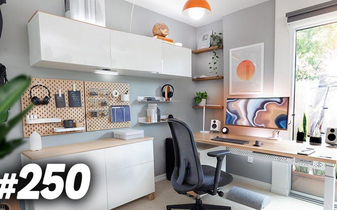 Room Tour Project 250 – Clean & Minimal Setups!