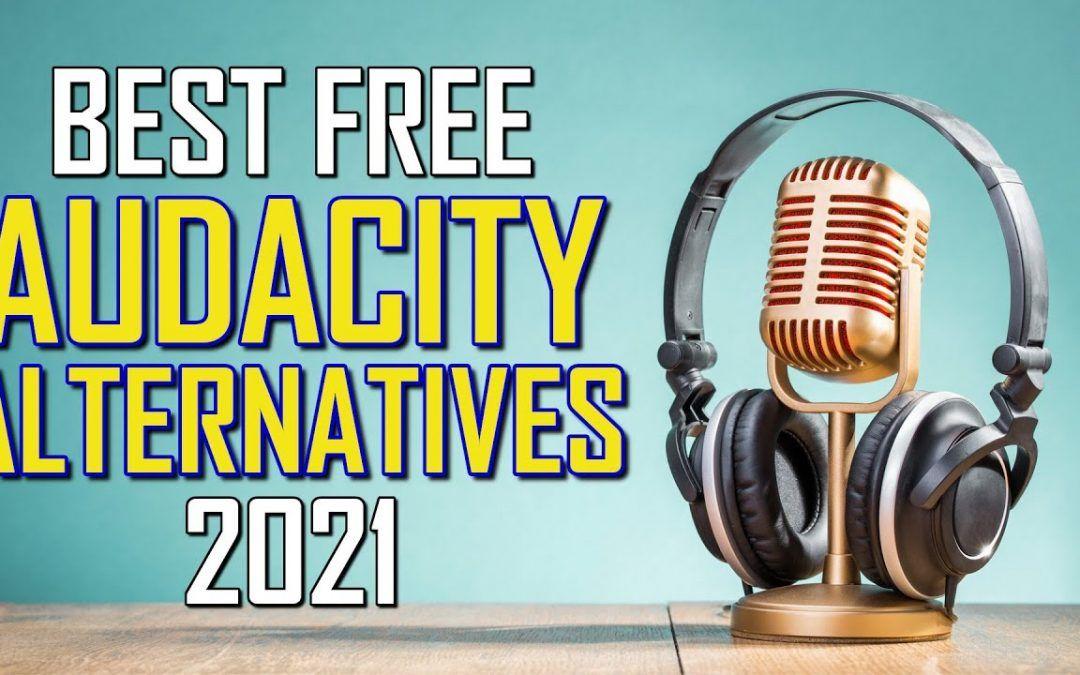 Top 5 Best Free Audacity Alternatives (2021)