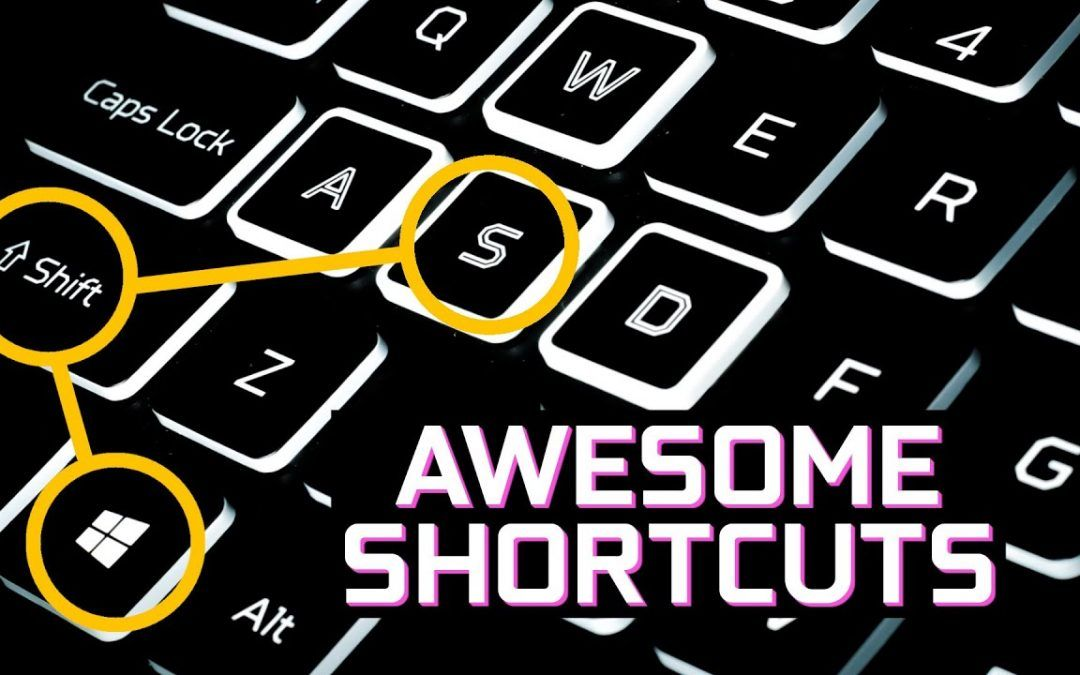 20 Awesome Shortcuts You Should Be Using in 2021!