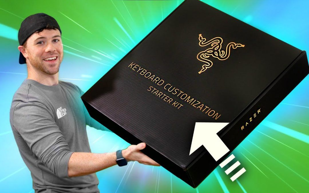 "Unboxing Razer's ""Keyboard Customization Kit"" ?!"