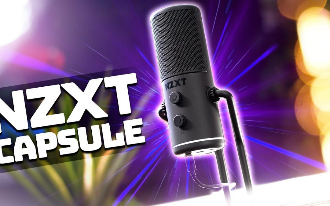 NZXT Capsule Microphone Review + Mic Test Comparison!