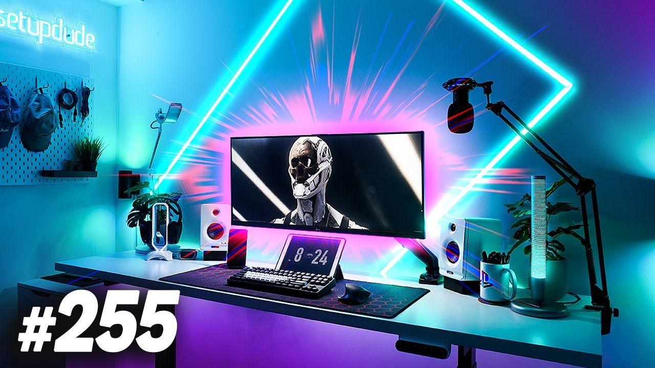 Room Tour Project 255 – Best Gaming & Desk Setups!
