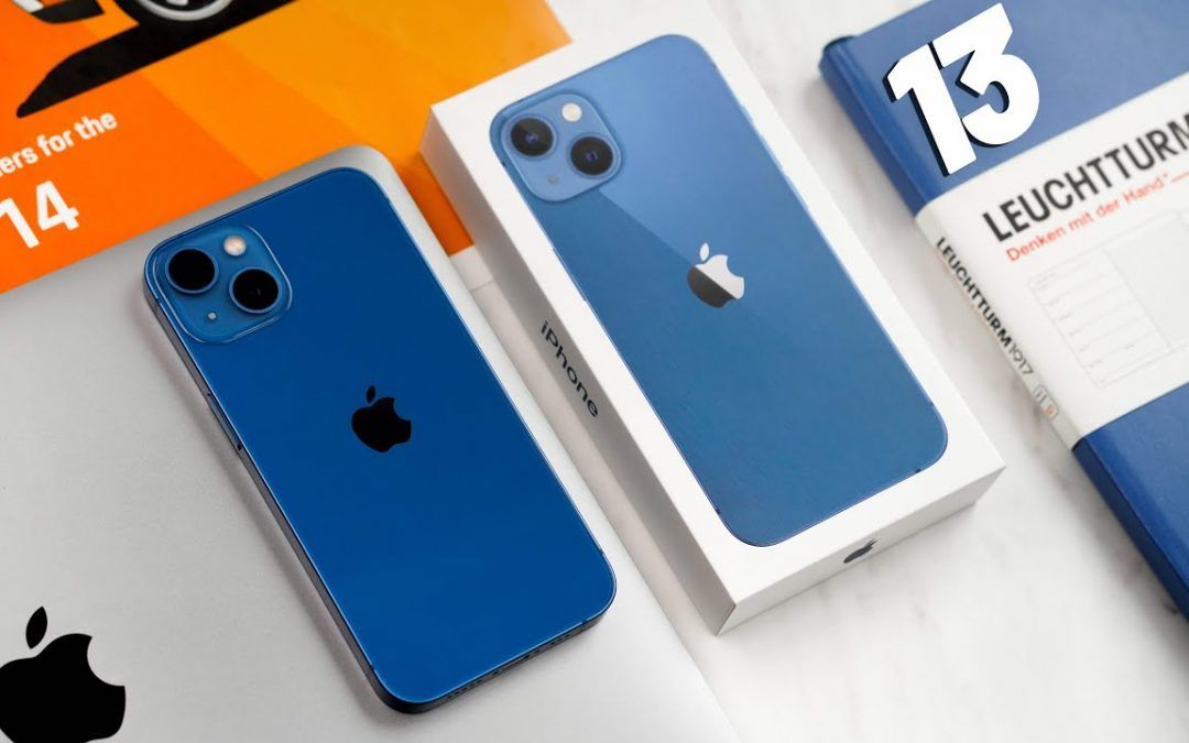 iPhone 13  UNBOXING – BLUE!