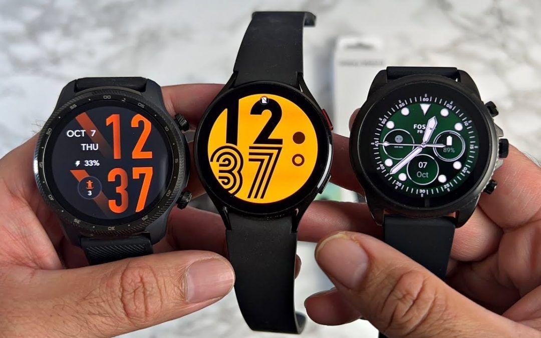 TicWatch Pro 3 ULTRA vs Galaxy Watch 4 vs Fossil GEN 6 – Best WearOS Smartwatch 2021 – Which to Buy?